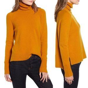 J. Crew | Super Soft Camel Turtleneck Sweater XS